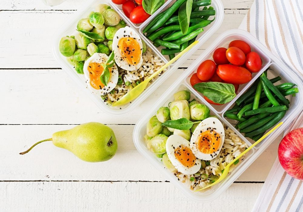 meal prep ways to healthy while working from home