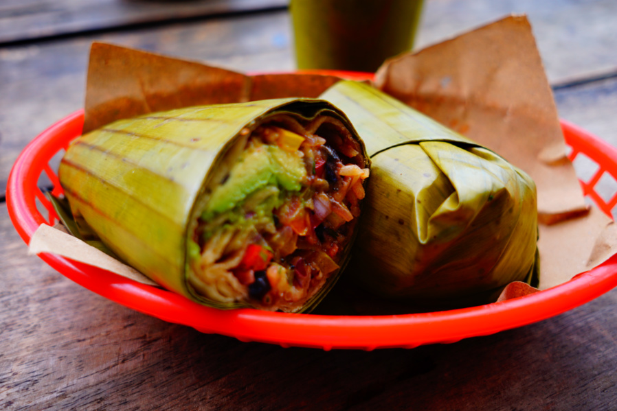 Burrito Amor Tulum, one of the best things to do and eat in tulum