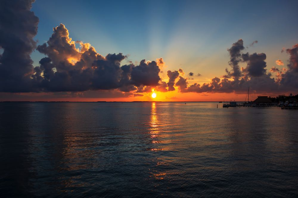 isla mujeres is one of the top places to visit in mexico for sunsets