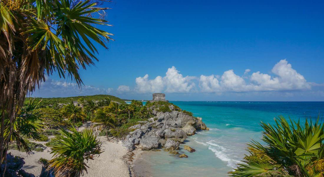 tulum is one of the top places to visit in mexico to see the ruins