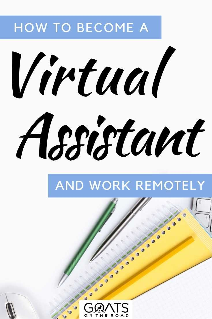 """How To Become a Virtual Assistant & Work Remotely"