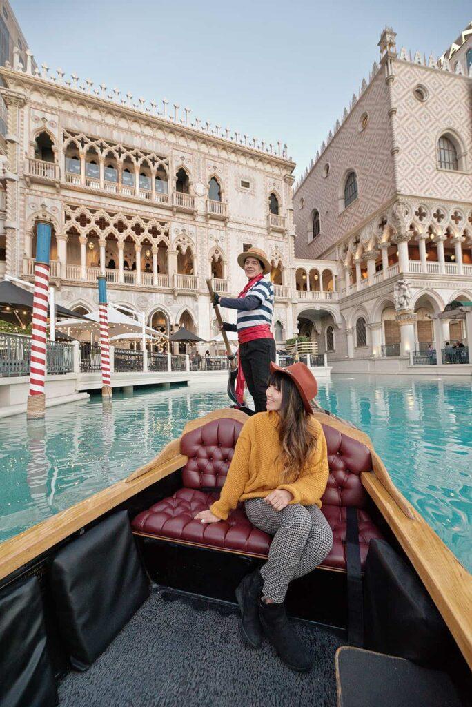 Gondola Rides at the Venetian Las Vegas