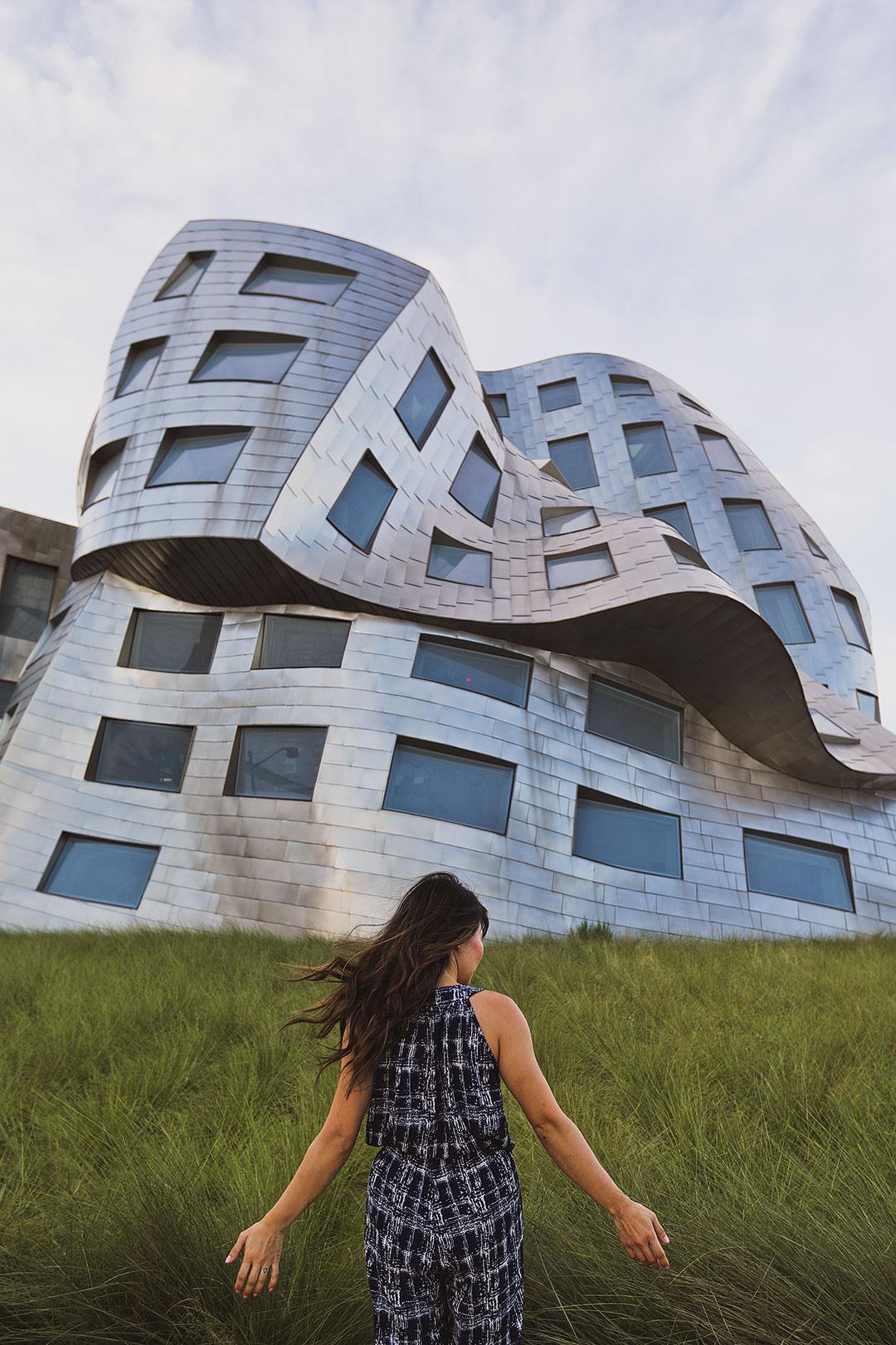 Frank Gehry Building Las Vegas + Travelers Dresses / Travel Maxi Dress