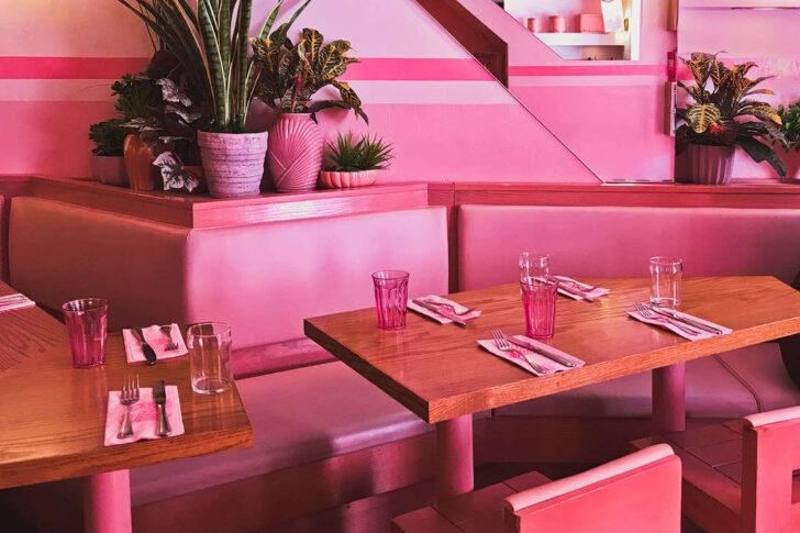 Pietro Nolita - Pink Restaurant in NYC + 25 NYC Instagram Spots You Should See on Your Next Visit // Local Adventurer #nyc #pink #nolita #newyork #newyorkcity #manhattan #instagram #photography #ny #usa