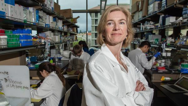 Biochemist Jennifer Doudna, the subject of Walter Isaacson
