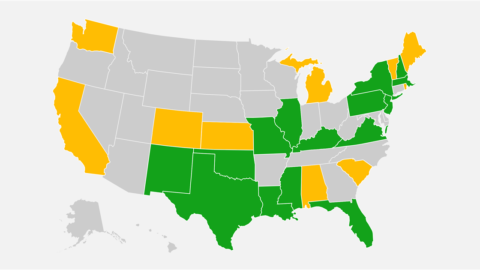 Map: Here are the states prioritizing the vaccination of pregnant women