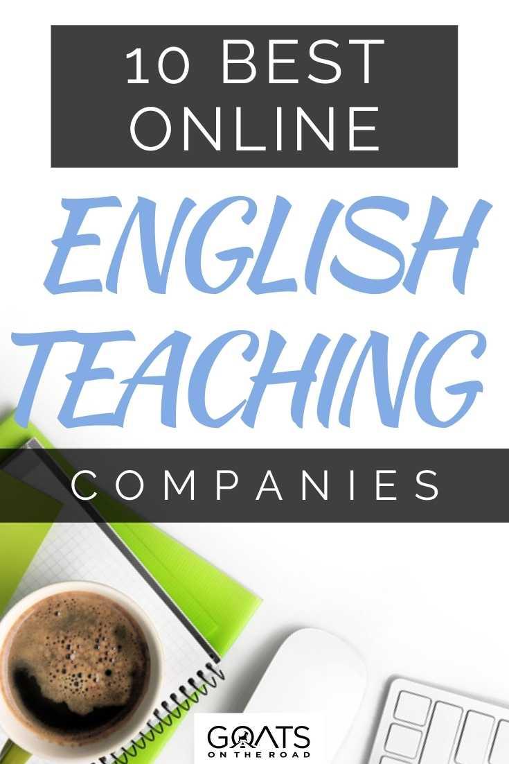 10 Best Online English Teaching Companies