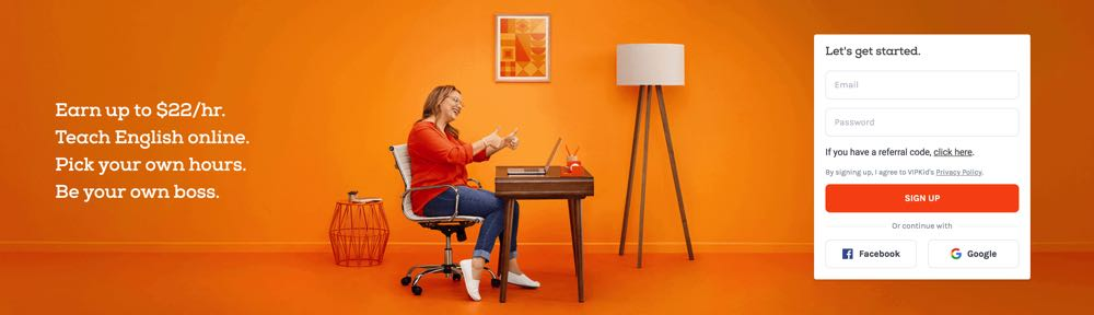 teaching english with vipkid