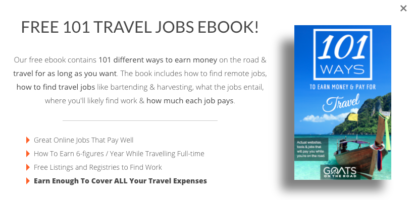 Online Jobs Get our Free Ebook 101 Jobs To Pay For Travel
