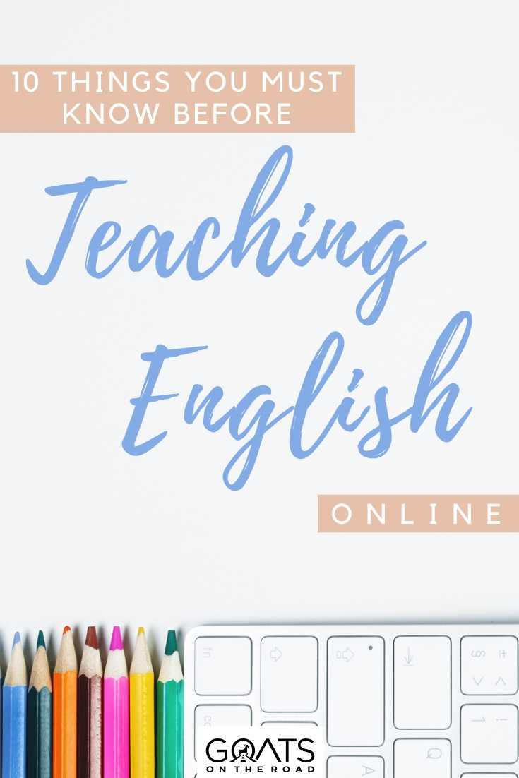 """10 Things You Must Know Before Teaching English Online"