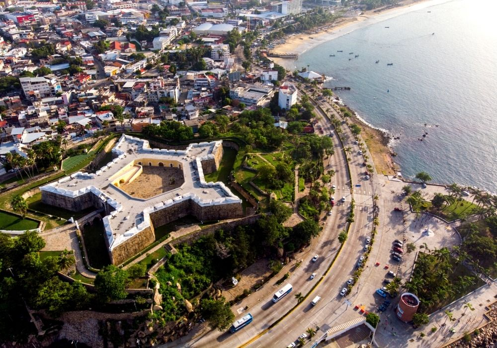 San Diego Fort in Acapulco, Mexico