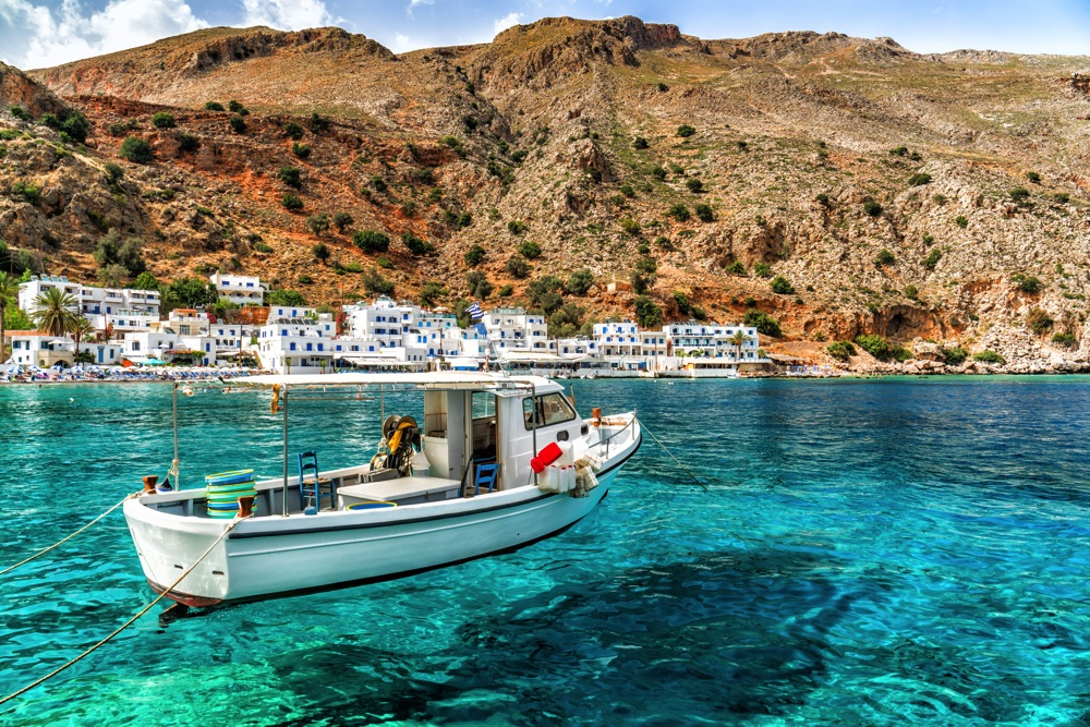 loutro island crete