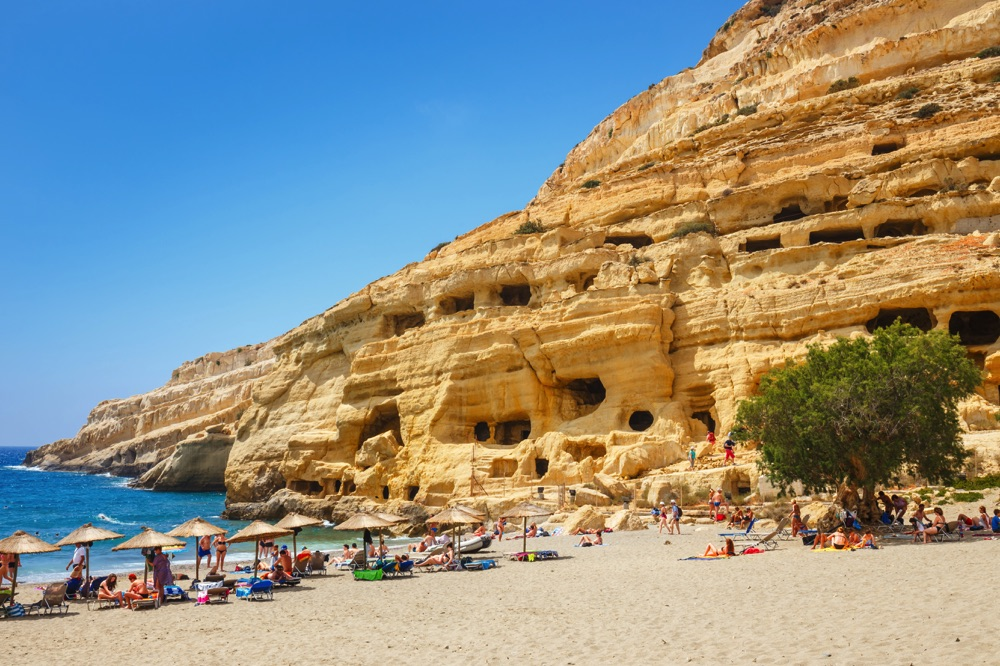 matala things to do in crete greece