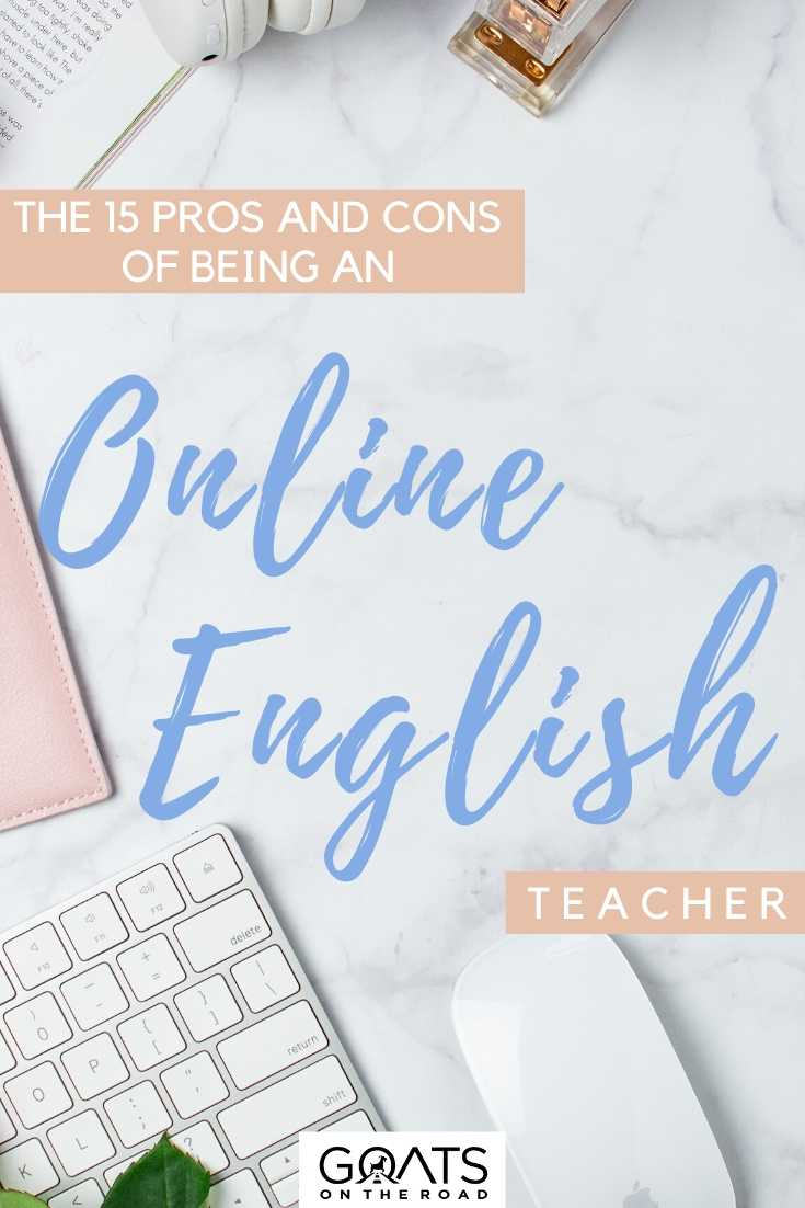 """""""The 15 Pros And Cons Of Being An Online English Teacher"""