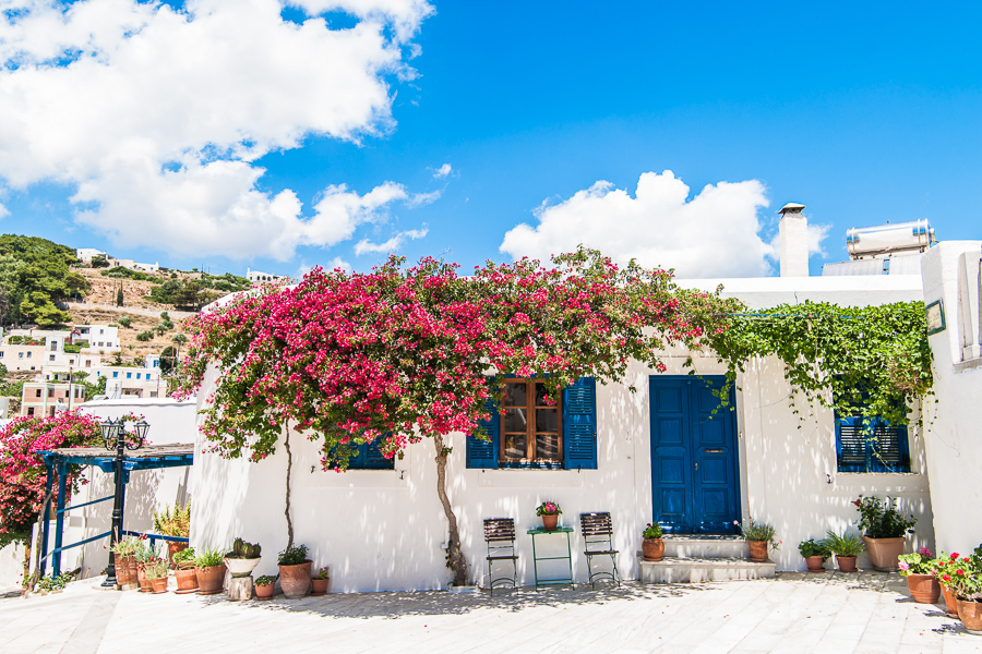 things to do in Paros visit lefkes one of the best greek islands