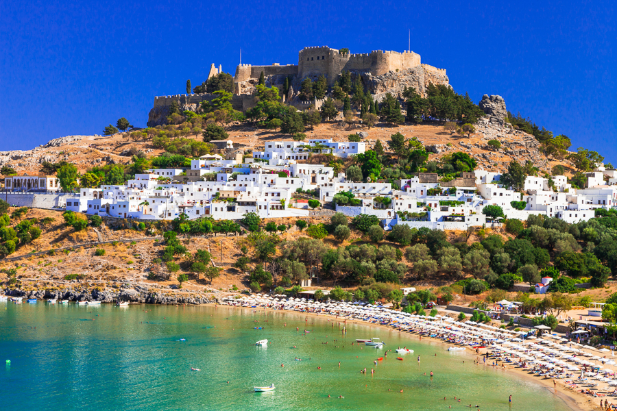 Places to visit islands in Greece-Rhodes