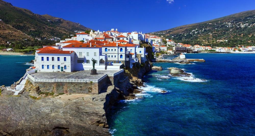 andros greek island