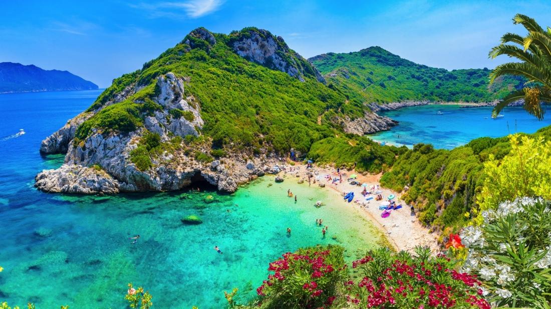 things to do in corfu beach