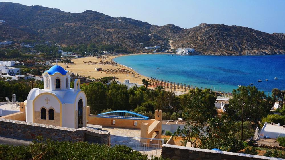 church in Ios greece