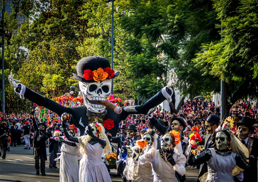 seeing the day of the dead is one of the top things to do in mexico