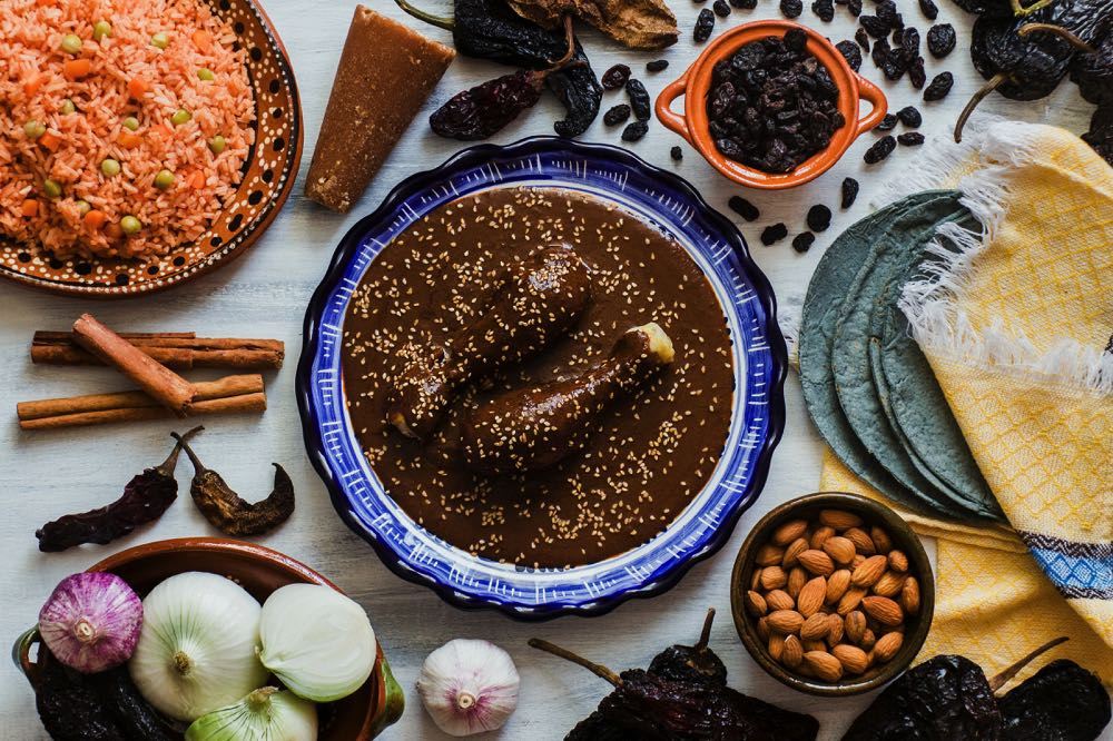 sampling the different mole sauces is one of the top things to do in mexico