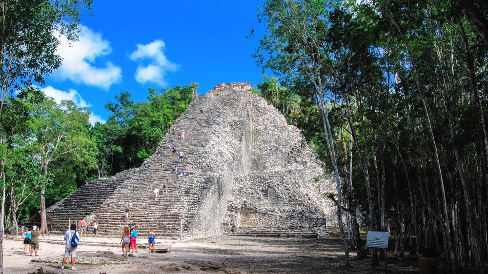 things to do in mexico visit the ruins of Coba