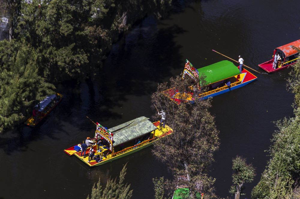Xochimilco river cruise things to do in mexico