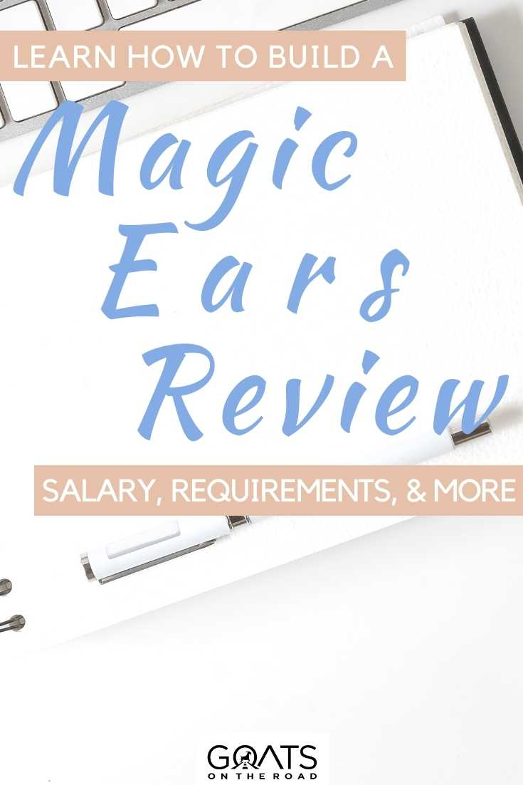 """""""Magic Ears Review: Salary, Requirements, & More"""
