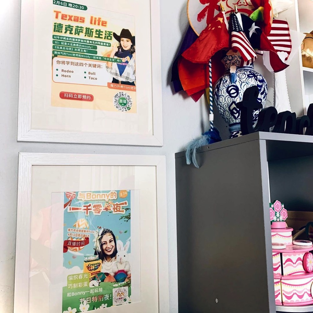 Teacher Toni Posters (Live shows for ME students)