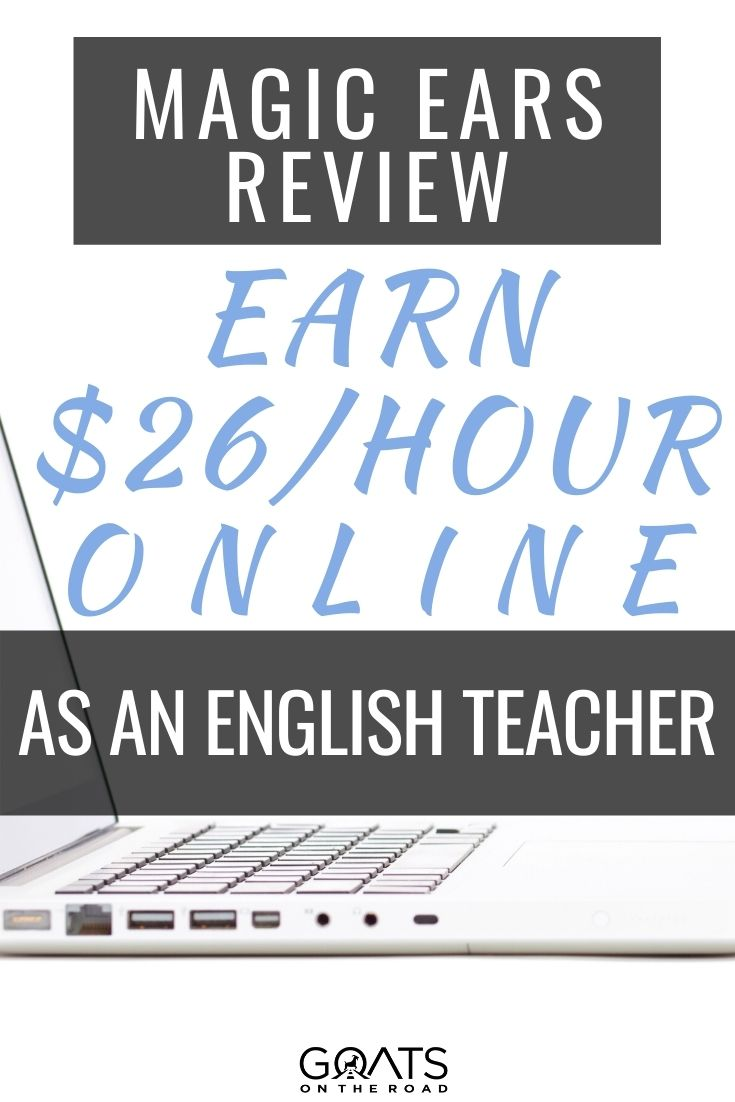 Magic Ears Review: Earn $26/Hour Online As An English Teacher