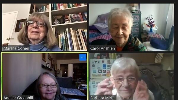 The memoir writing students at the DOROT Center found new closeness on Zoom.