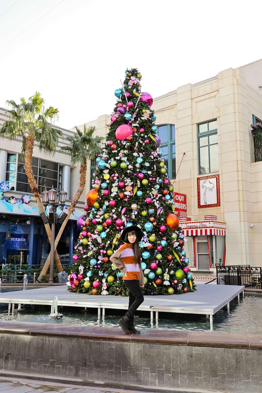 linq christmas trees las vegas