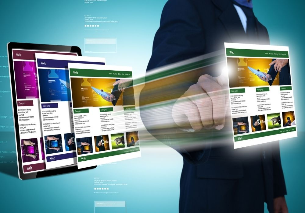 create essential pages on your website