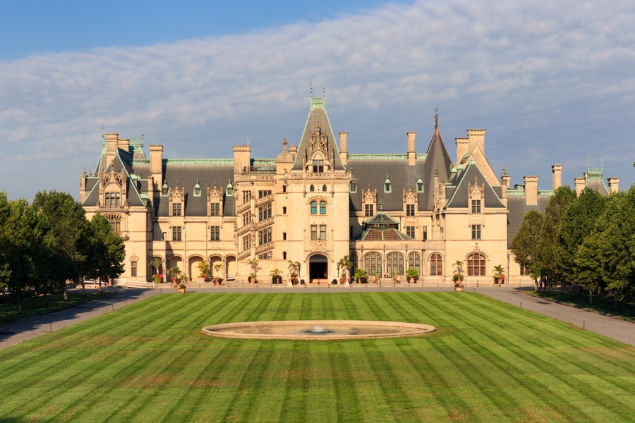 the biltmore estate is one of the top things to do in asheville nc