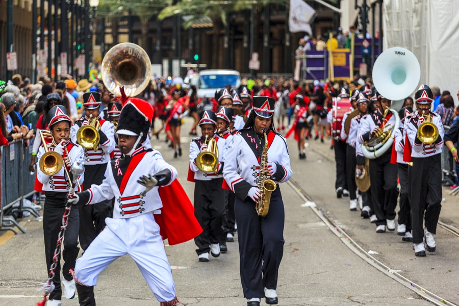 partying in mardi gras is one of the best things to do in new orleans