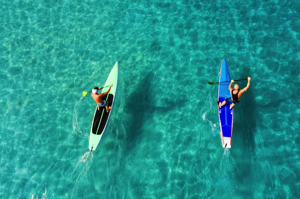 things to do in cozumel go paddleboarding