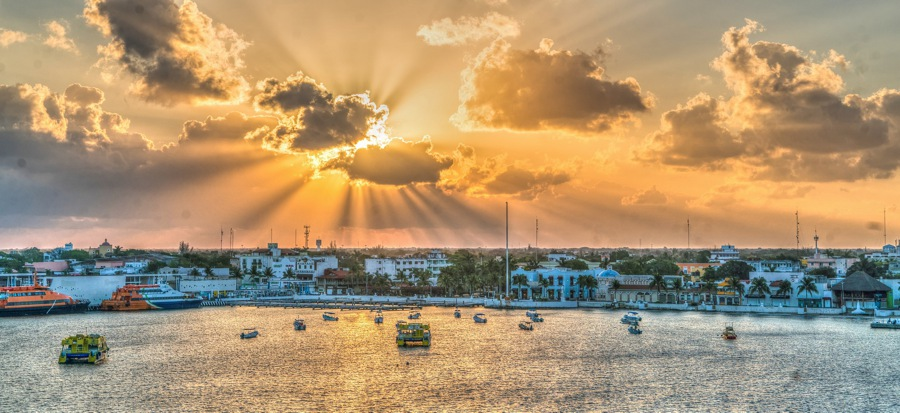 things to do in cozumel watch the sunset