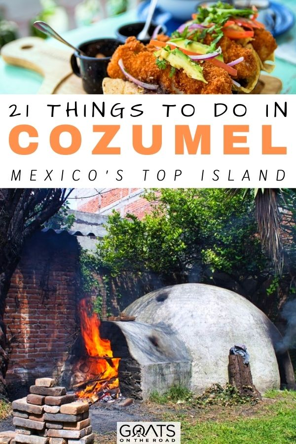 """""""21 Things To Do in Cozumel: Mexico's Top Island"""