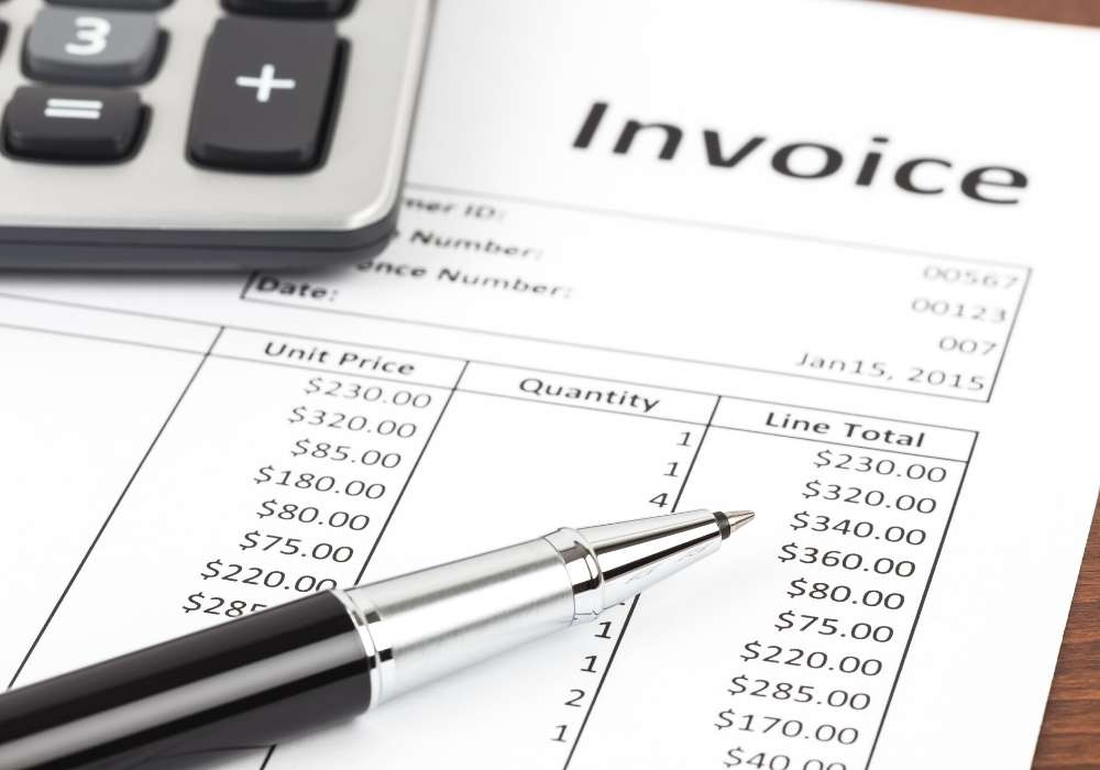 how to create an invoice for freelancers