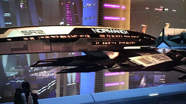 The Normandy, coolest ship in this part of space.