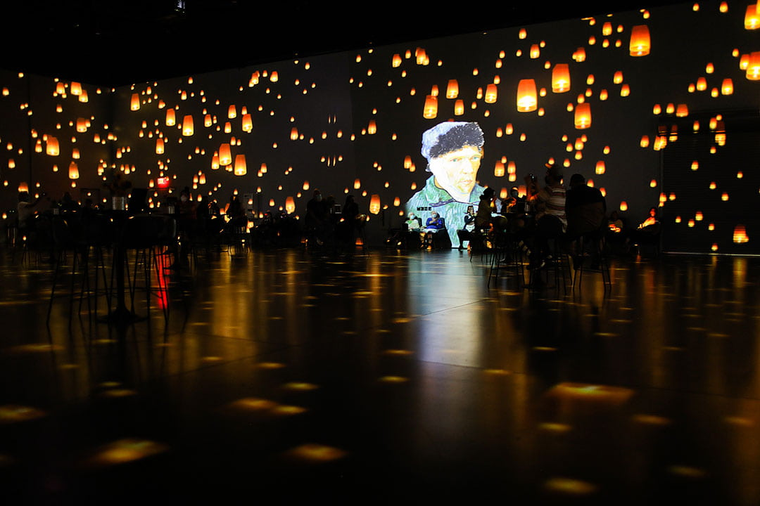 van gogh immersive experience review