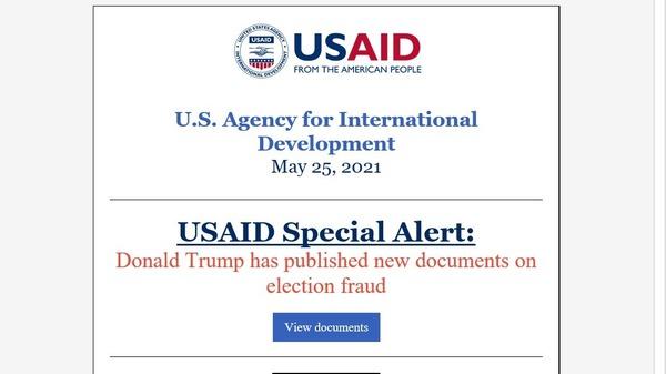 Hackers used the U.S. Agency for International Development