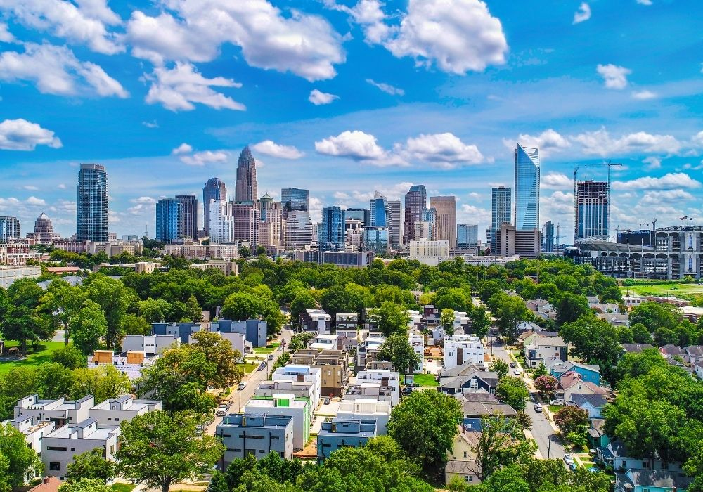 living in charlotte as a digital nomad