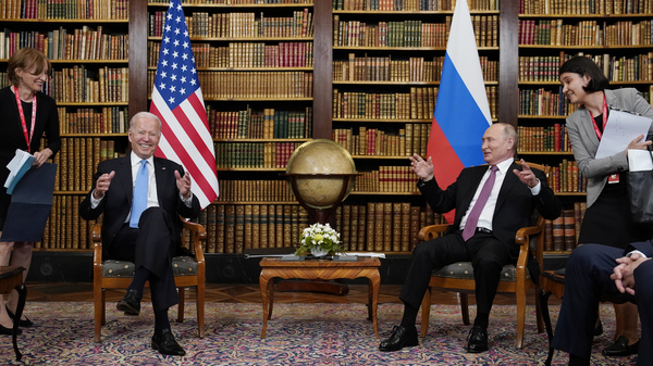 """At their summit in Geneva on Wednesday, President Biden told Russian leader Vladimir Putin that the U.S. would strike back if it keeps getting hit with cyberattacks. """"Responsible countries need to take action against criminals who conduct ransomware activities on their territory,"""" Biden said."""