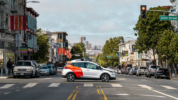 Cruise, a self-driving car service out of San Francisco, was granted a driverless vehicle permit for the state