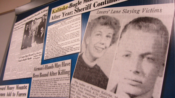 Clippings from the Great Falls Tribune were part of the Cascade County Sheriff