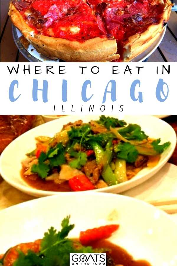"""""""Where To Eat in Chicago, Illinois"""