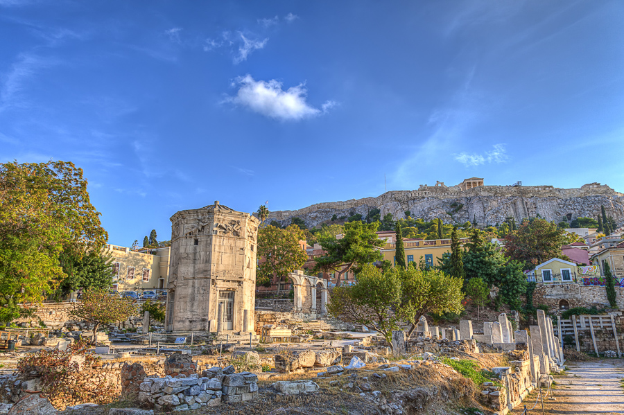 visit the roman agora in athens things to do
