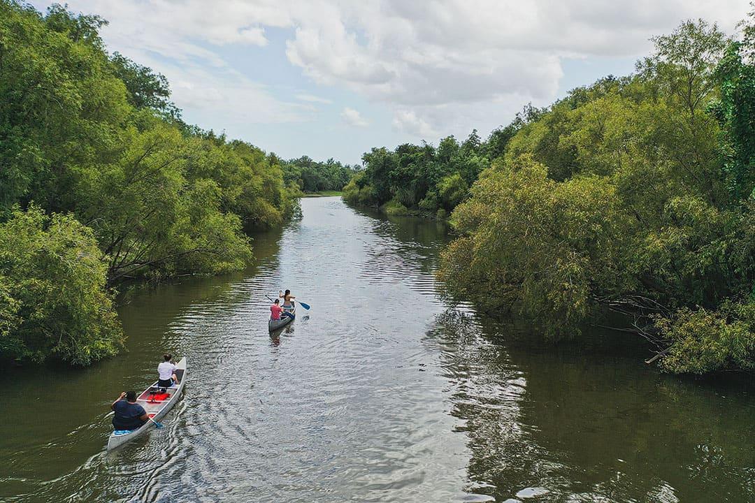 peace river kayaking