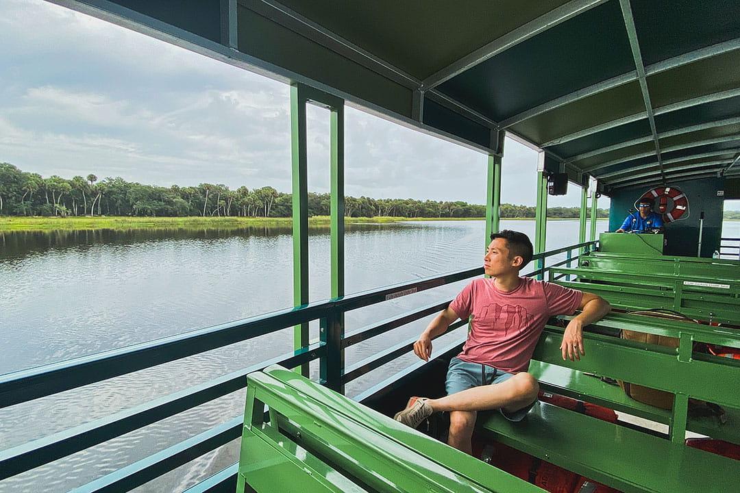 myakka state park boat tours